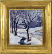 "Anthony Thieme ""Winter Landscape"""
