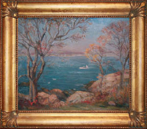 "Marguerite S. Pearson, ""Autumn in Rockport"""